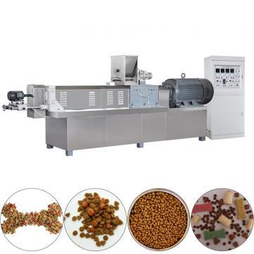 Fully Automatic Kibble Dry Dog Fish Cat Pet Food Machine