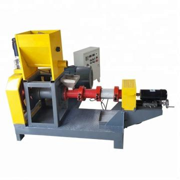 Automatic stainless steel big capacity inflated kibble small dog wet extruder canned dry making pellet pet food machine line