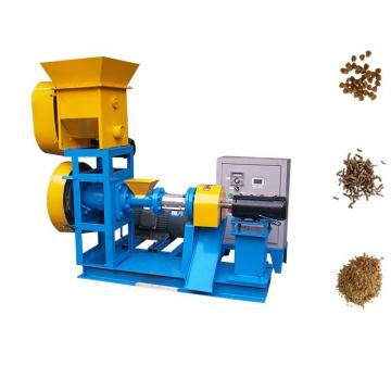 High speed animal feed dog food extruder machine fish feed pellet extruder machine